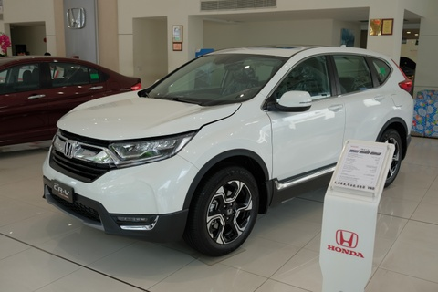 Honda CR-V huong thue nhap khau 0% ve dai ly, giao xe som 1 thang hinh anh
