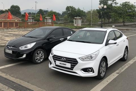 Hyundai Accent 2018 xuat hien tai Ha Noi hinh anh