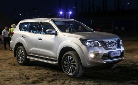 Nissan Terra 7 cho ra mat, gia tuong duong 650 trieu, ve VN dau 2019 hinh anh 1