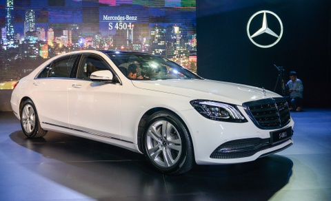 Mercedes S-Class 2018 ve VN, tao suc ep cho Audi A8, BMW 7-Series hinh anh