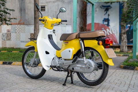 Huyen thoai Honda Super Cub doi 2018 gia 80 trieu dong ve VN hinh anh 11