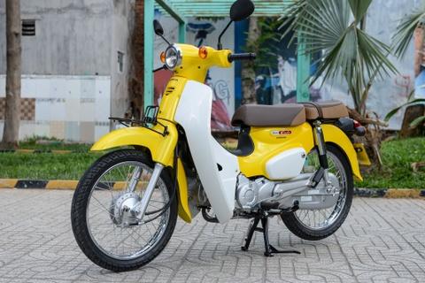 Huyen thoai Honda Super Cub doi 2018 gia 80 trieu dong ve VN hinh anh 1