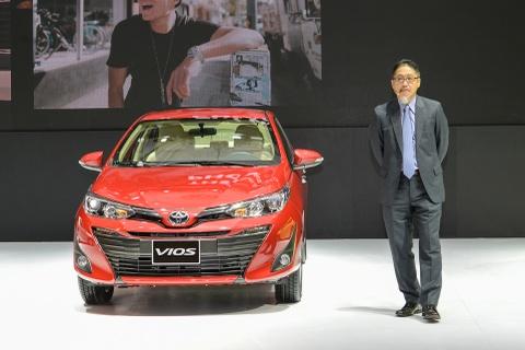 Toyota Vios 2018 ra mat tai Viet Nam, gia tu 531 trieu dong hinh anh
