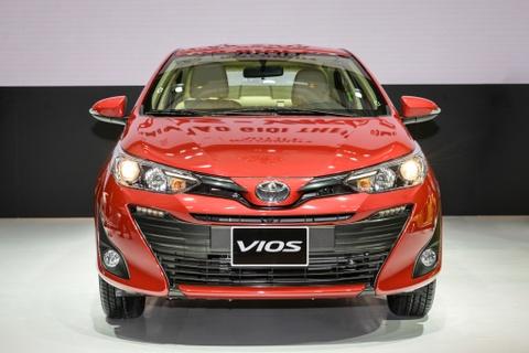Toyota Vios 2018 co gi de dau Hyundai Accent, Honda City? hinh anh