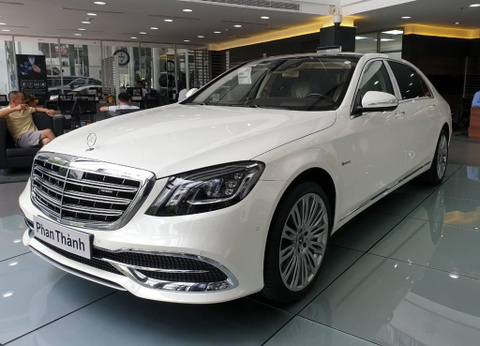 Phan Thanh tau Mercedes-Maybach S450 gia hon 7,2 ty dong hinh anh