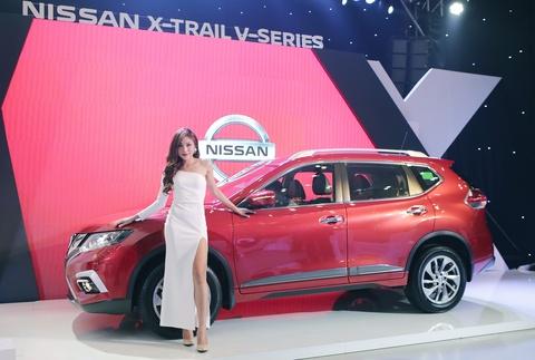Nissan X-Trail V-Series gia tu 991 trieu dong - doi thu Honda CR-V hinh anh