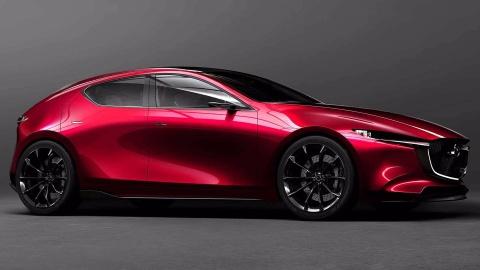 Teaser cua Mazda3 2019 sap ra mat tai trien lam Los Angeles hinh anh