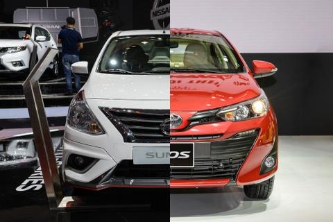 Nen chon mua Nissan Sunny hay Toyota Vios? hinh anh