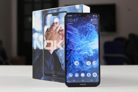 Trai nghiem nhanh Nokia X6 xach tay tai Viet Nam hinh anh