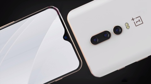 Concept OnePlus 6T voi thiet ke man hinh giot nuoc doc dao hinh anh