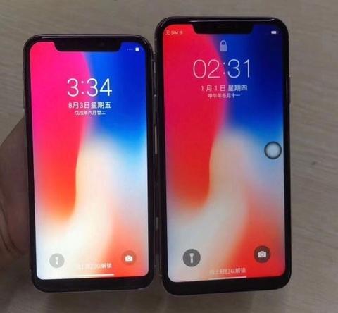 Chua ra mat, iPhone X 2018 va iPhone X Plus da bi lam gia hinh anh