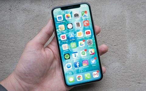 iPhone X da chet hinh anh
