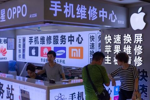 Khi nao smartphone Trung Quoc thoi sao chep iPhone? hinh anh 1