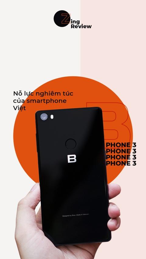 Danh gia Bphone 3 - no luc nghiem tuc cua smartphone Viet hinh anh 1