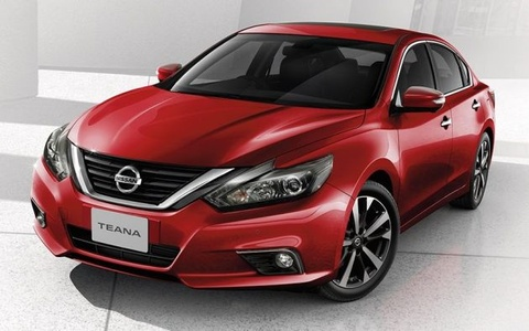 Nissan Teana 2018 ra mat tai Thai Lan voi thiet ke moi hinh anh