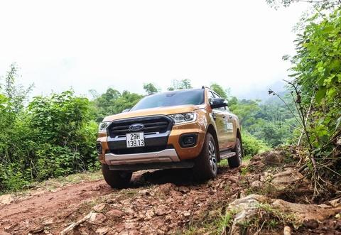 Bán tải Ford Ranger giữ ngôi vương bán chạy nhất Việt Nam
