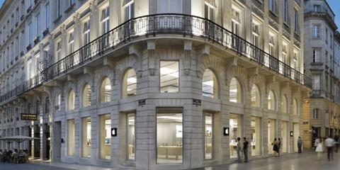 Bạo động tại Pháp, Apple Store tại Bordeaux bị đập phá