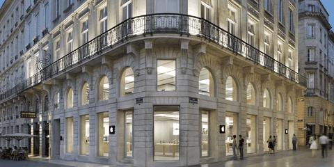 Apple Store Bordeaux bi dap pha hinh anh