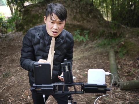 Nhung nong dan Trung Quoc doi doi nho livestream hinh anh