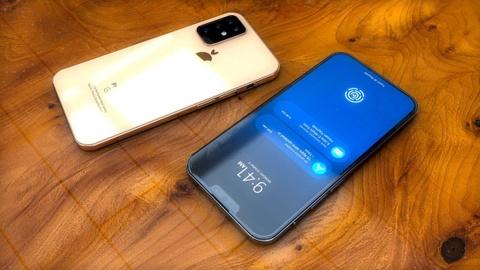 Bản dựng iPhone 11 với 3 camera, vân tay dưới màn hình