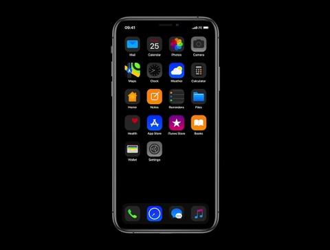 Ngam he dieu hanh iOS 13 trong ban concept moi hinh anh
