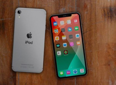 Concept iPod Touch 7 voi thiet ke tuong tu iPhone X hinh anh