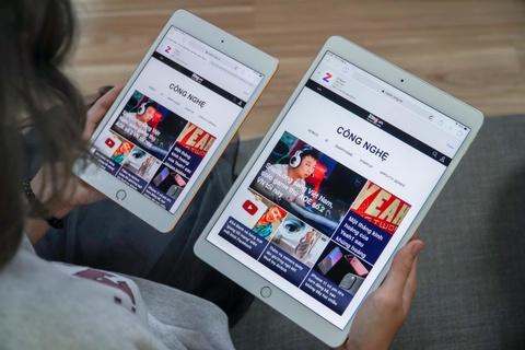 Chi tiet iPad Air va iPad mini 2019 tai VN - dang cu, cau hinh manh hinh anh 1