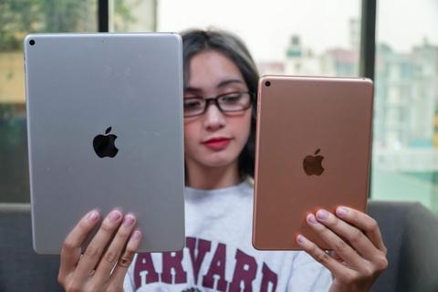 Chi tiet iPad Air va iPad mini 2019 tai VN - dang cu, cau hinh manh hinh anh 5
