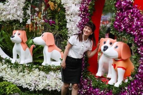 Hang nghin nguoi dao choi Hoi hoa xuan Tao Dan hinh anh 9