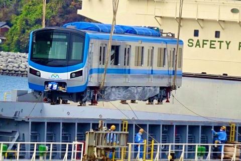 Tau metro roi cang Nhat Ban ve TP.HCM hinh anh