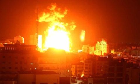 Israel khong kich phong xet nghiem Covid-19 duy nhat o Gaza hinh anh
