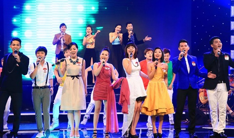 Chung ket mo man 'Tieng hat truyen hinh 2013' buon chan hinh anh