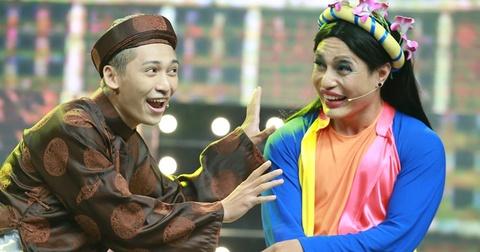 Nguyen Hung, Tronie Ngo lan dau hat cai luong hinh anh