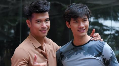 Nhan Phuc Vinh, Thanh Truc suyt chet khi dong phim hinh su hinh anh