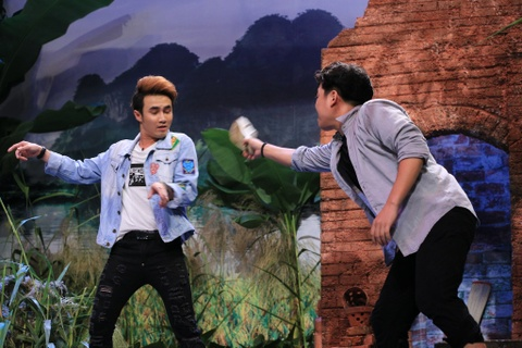 Tran Thanh hoa thang kho lay nuoc mat nguoi xem o On gioi hinh anh 9