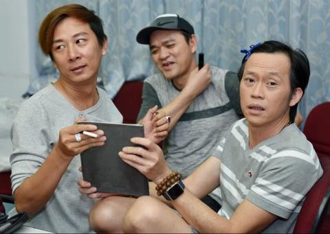 Hoai Linh treu choc can nang cua Hong Van trong canh ga hinh anh 1