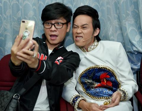 Hoai Linh treu choc can nang cua Hong Van trong canh ga hinh anh 3