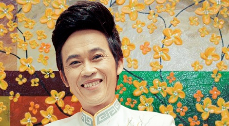 Hoai Linh va dan dien vien phim ve nguoi rung chuc Tet hinh anh