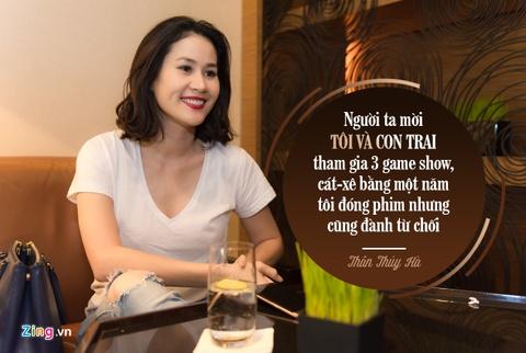 Than Thuy Ha: 'Tu choi game show du tien bang mot nam di phim' hinh anh 2