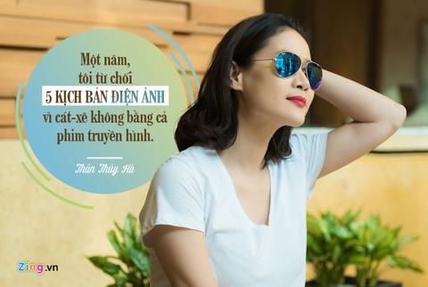 Than Thuy Ha: 'Tu choi game show du tien bang mot nam di phim' hinh anh 3