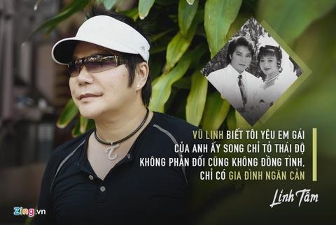 Moi tinh cua nghe si chuyen vai phan dien va em gai NSUT Vu Linh hinh anh 1