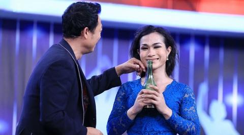 Tran Thanh keu goi ung ho hien kim cho nguoi chuyen gioi hinh anh