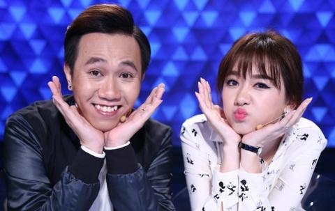 Tran Thanh - Hari Won hoan doi can nang sau khi ket hon hinh anh