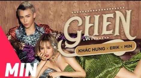 Single 'Ghen' cua Min va Erik danh bai nhac phim 'Em chua 18' hinh anh
