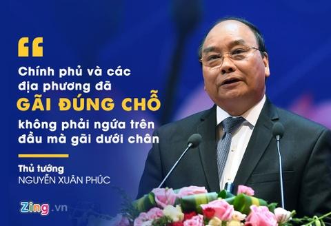 10 phat ngon an tuong cua Thu tuong tai hoi nghi doanh nghiep lan hai hinh anh 9