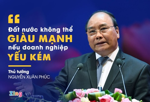 10 phat ngon an tuong cua Thu tuong tai hoi nghi doanh nghiep lan hai hinh anh 8