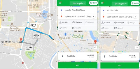 GrabBike tang gia that thuong, co luc dat hon taxi hinh anh 2