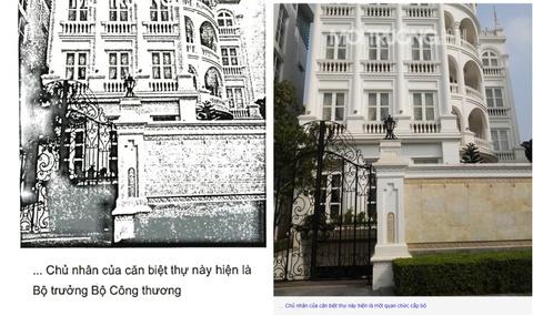 Bo Cong Thuong bac viec bo truong so huu biet thu sieu dep o Vuon Dao hinh anh