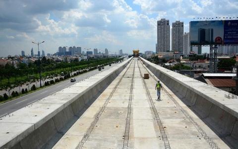 Tuyen metro so 1 o Sai Gon va la thu canh bao cua Dai su Nhat hinh anh