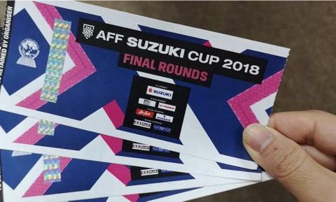 10h sáng nay, VFF bắt đầu bán vé trận chung kết Việt Nam vs Malaysia